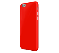 "SwitchEasy Nude Ultra Thin Slim Case 0.8mm για iPhone 6 / 6S (4.7"") Red + Δώρο Screen Protector"