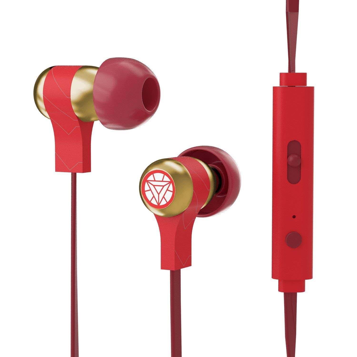 Tribe Marvel Iron Man In-Ear Earphones | 1.2m | Remote | Microphone