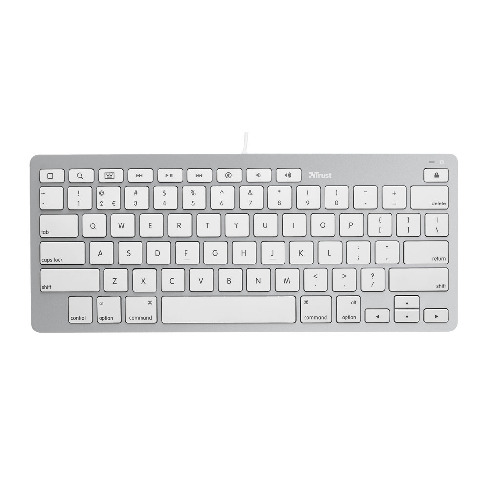 Trust 20412 Keyboard για Apple iPad & iPhone | Comfortable Flat Keys | Ultrathin Design