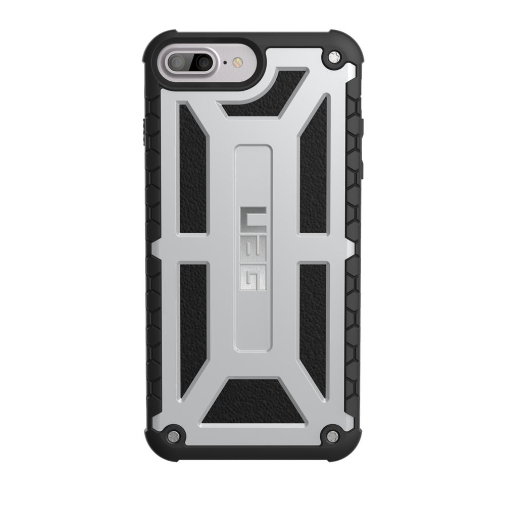 "UAG Original Protective Cover Case Monarch Series για Apple iPhone 7 & 8 Plus (5.5"") & iPhone 6s Plus (5.5"") Platinum"