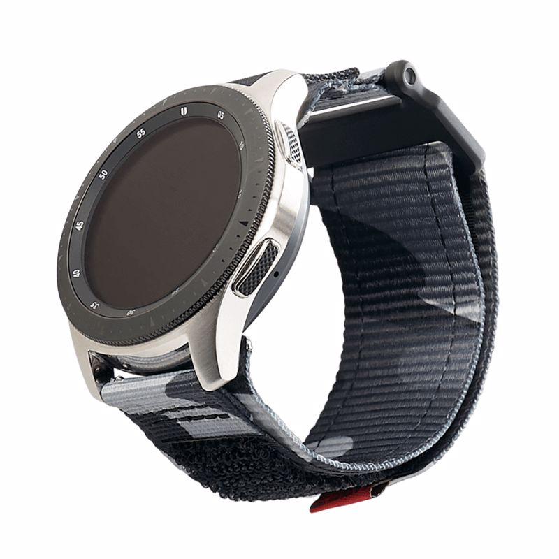 UAG Active Strap 22mm Midnight (Νάιλον λουράκι) για Samsung Galaxy Watch 46mm, 42mm, Gear S3, Amazfit Pace, Stratos