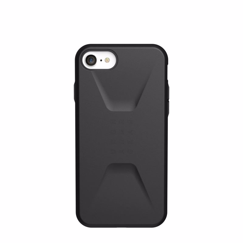 UAG Original Protective Cover Case Civilian Series για Apple iPhone 6, 6S, 7, 8 & SE (2020) Black