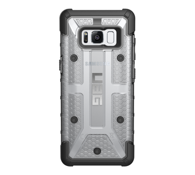 UAG Original Protective Cover Case Plasma Series για Samsung SM-G950F Galaxy S8 ICE (Clear)