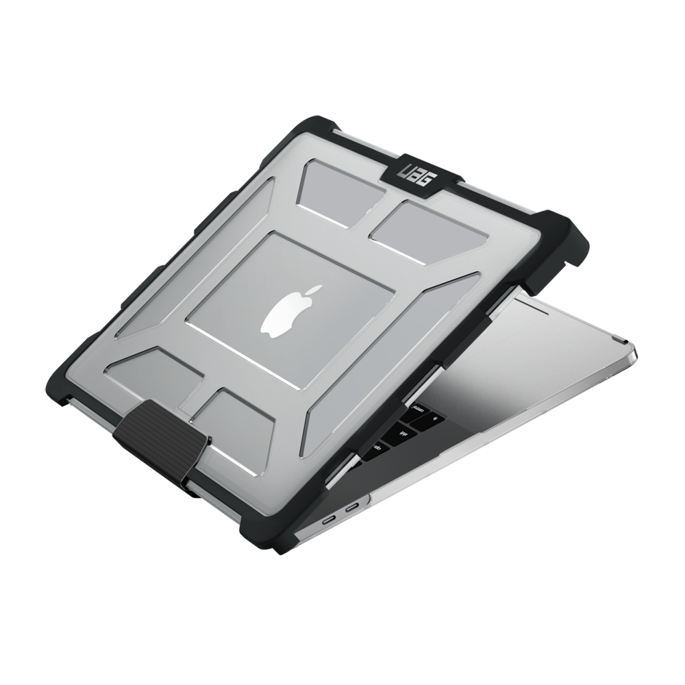 "UAG Original Protective Cover Case Plasma Series για Apple MacBook Pro 15"" 4th Gen With Touch Bar ICE (Clear)"