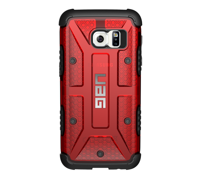 UAG Original Protective Cover Case για Samsung SM-G930F Galaxy S7 Magma (Red)