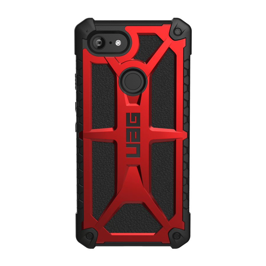 UAG Original Protective Cover Case Monarch Series για Google Pixel 3 XL Crimson Red