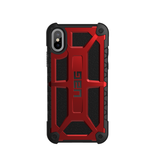 "UAG Original Protective Cover Case Monarch Series για Apple iPhone X (5.8"") Crimson Red"
