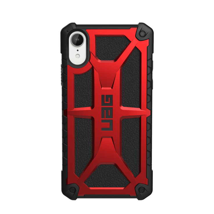 UAG Original Protective Cover Case Monarch Series για Apple iPhone XR Crimson Red