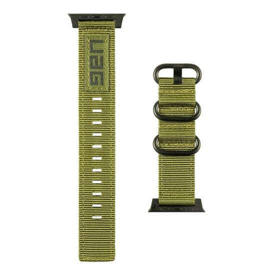 UAG Nato Strap (Νάιλον λουράκι) για Apple Watch Series 1, 2 & 3 (42mm) & 4, 5 (44mm) Olive Drab