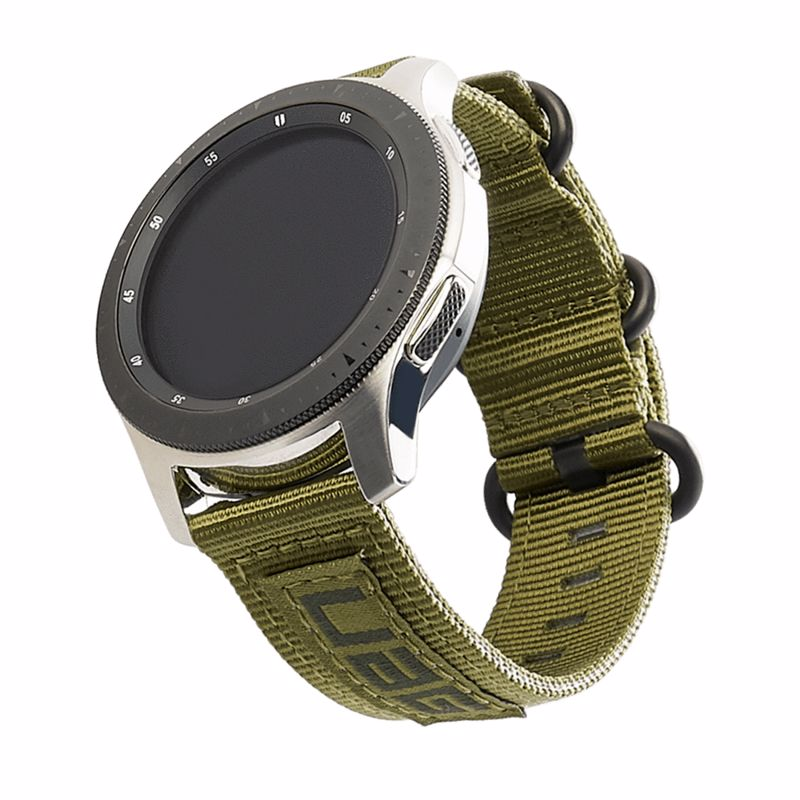 UAG Nato Strap 22mm Olive Drab (Νάιλον λουράκι) για Samsung Galaxy Watch 46mm, 42mm, Gear S3, Amazfit Pace, Stratos