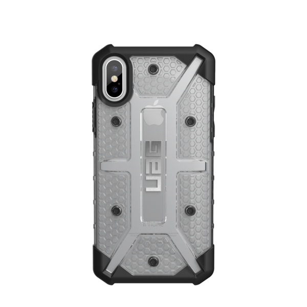 "UAG Original Protective Cover Case Plasma Series για Apple iPhone X (5.8"") ICE (Clear)"