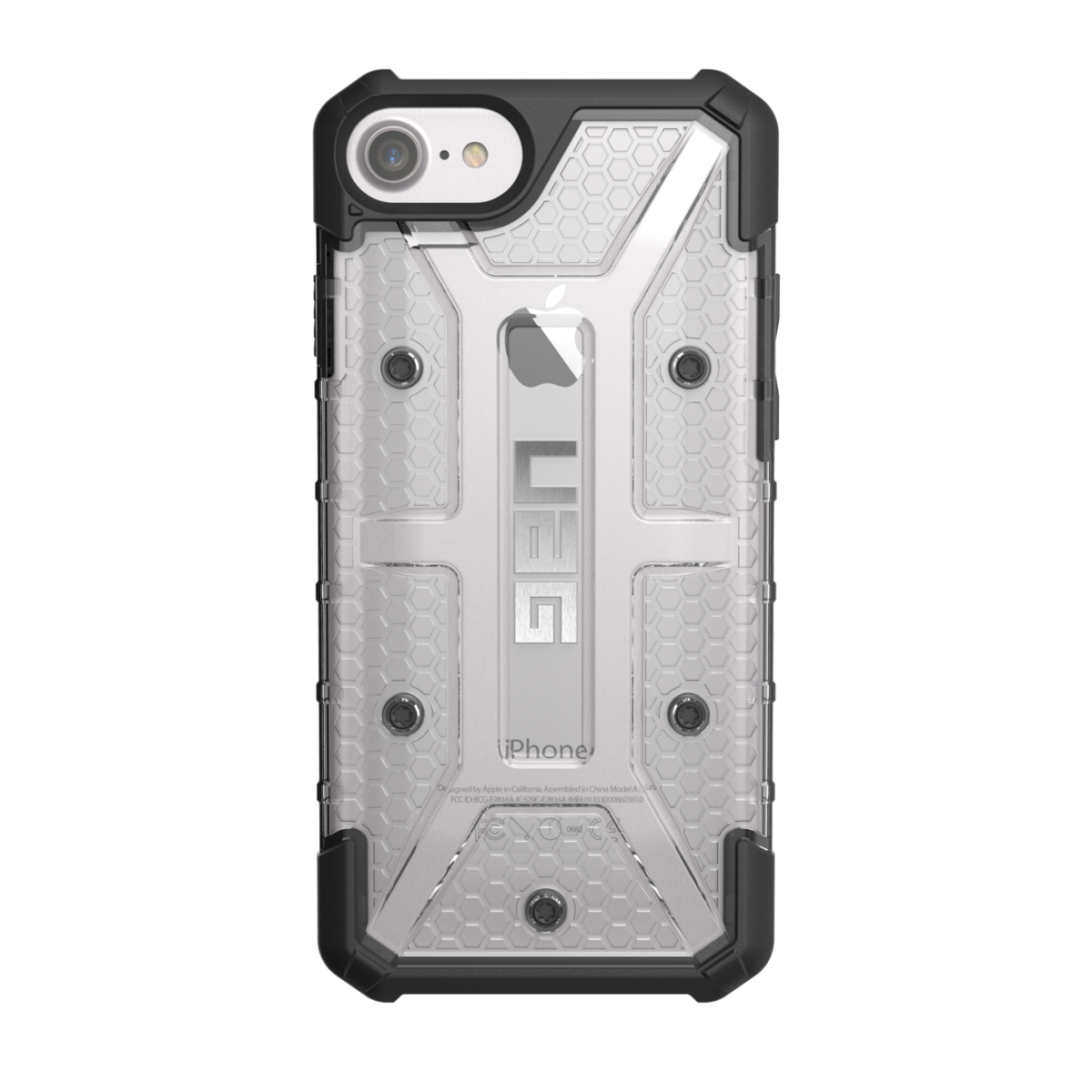 "UAG Original Protective Cover Case Plasma Series για Apple iPhone 7 & 8 (4.7"") & iPhone 6 / 6S (4.7"") ICE (Clear)"