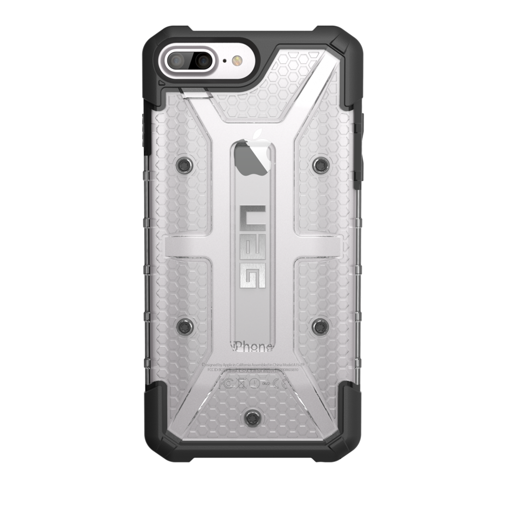 "UAG Original Protective Cover Case Plasma Series για Apple iPhone 7 & 8 Plus (5.5"") & iPhone 6s Plus (5.5"") ICE (Clear)"