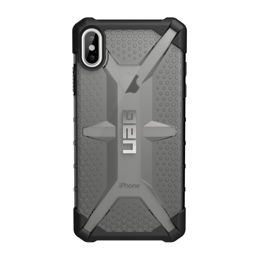 UAG Original Protective Cover Case Plasma Series για Apple iPhone XS Max ASH (Smoke)