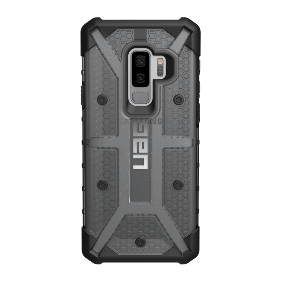 UAG Original Protective Cover Case Plasma Series για Samsung SM-G965F Galaxy S9+ (Plus) ASH (Smoke)