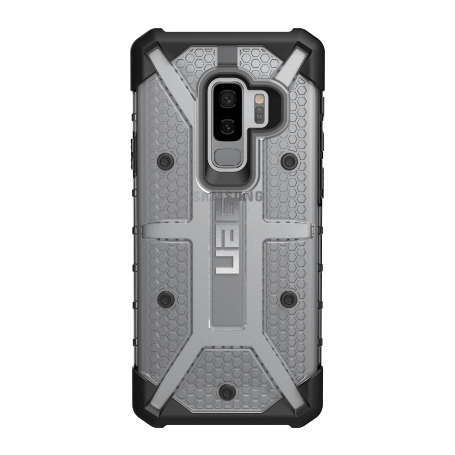 UAG Original Protective Cover Case Plasma Series για Samsung SM-G965F Galaxy S9+ (Plus) ICE (Clear)