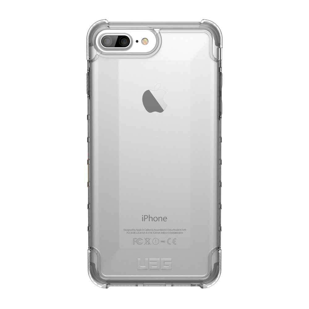 "UAG Original Protective Cover Case Plyo Series για Apple iPhone 7 & 8 Plus (5.5"") & iPhone 6s Plus (5.5"") ICE (Clear)"