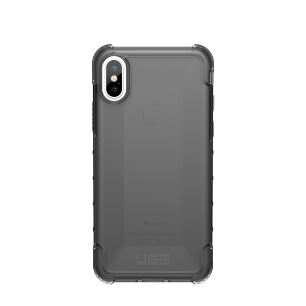 "UAG Original Protective Cover Case Plyo Series για Apple iPhone X (5.8"") ASH (Smoke)"