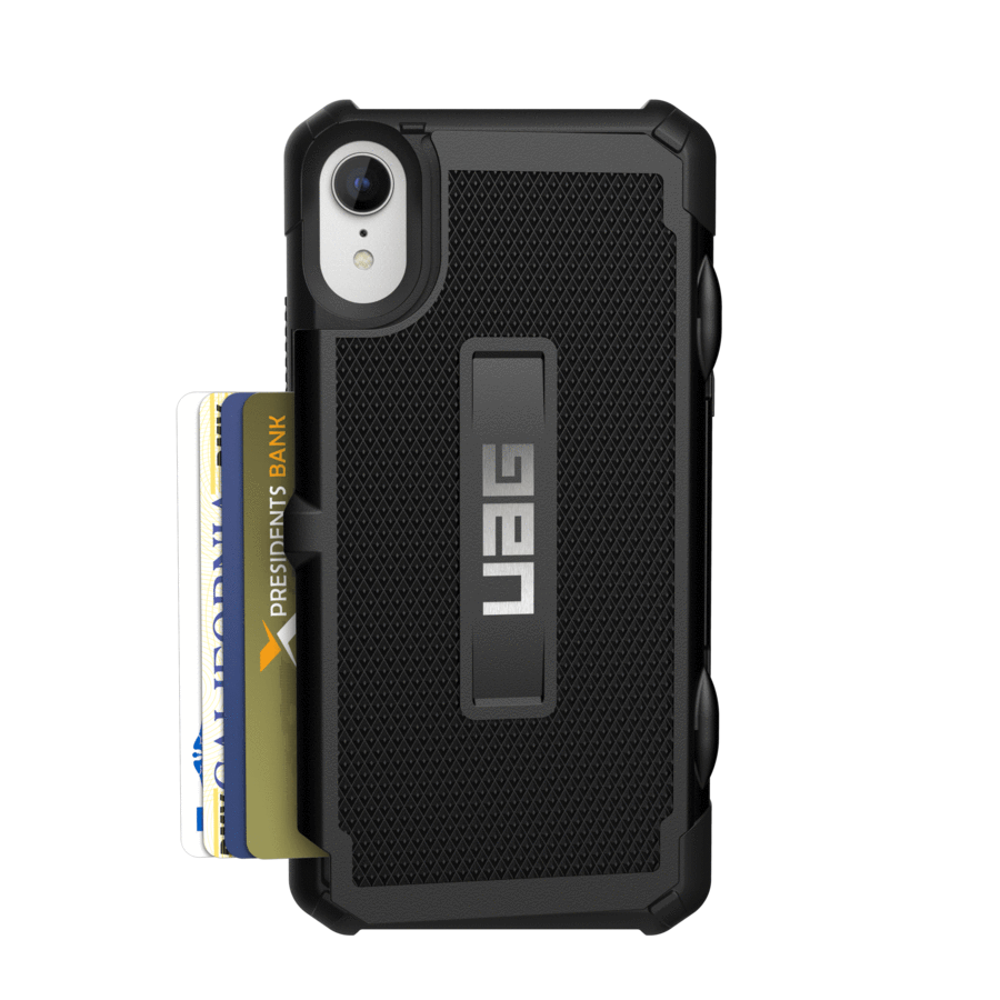 UAG Original Protective Cover Case Trooper Series για Apple iPhone XR Black