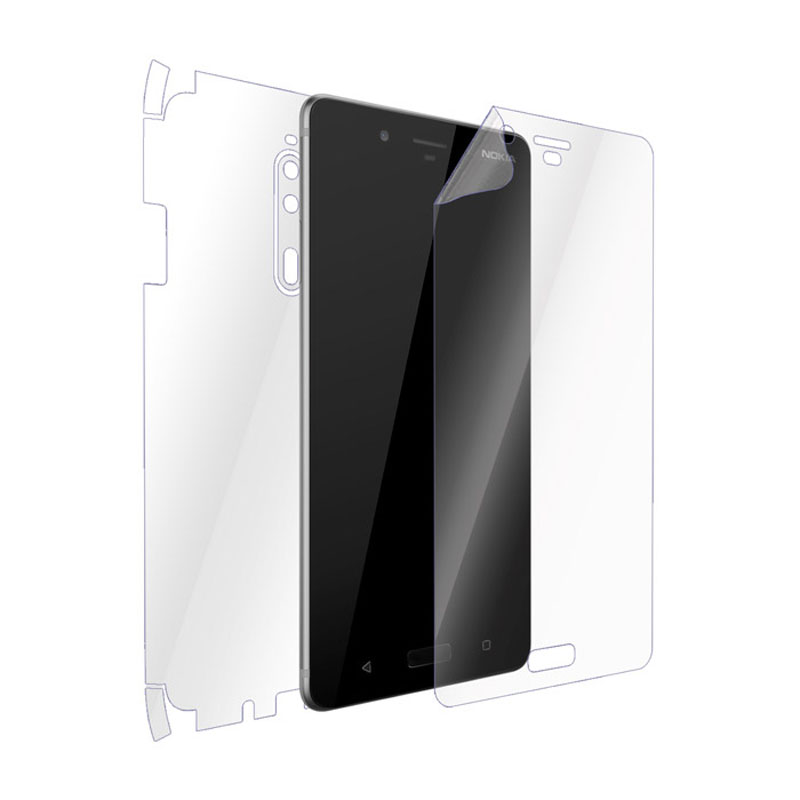 Ultimate Shield Full Body (Maximum) Invisible Film Screen Protector για Nokia 8 + Οδηγίες εγκατάστασης