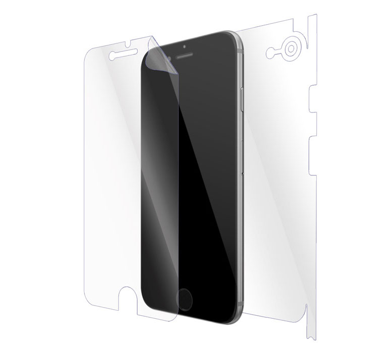 "Ultimate Shield Full Body (Maximum) Invisible Film Screen Protector για Apple iPhone 7 & 8 (4.7"") + Οδηγίες εγκατάστασης"