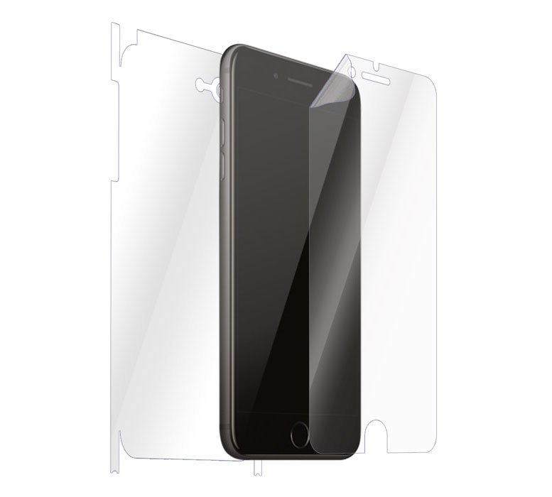 "Ultimate Shield Full Body (Maximum) Invisible Film Screen Protector για Apple iPhone 7 & 8 Plus (5.5"") + Οδηγίες εγκατάστασης"