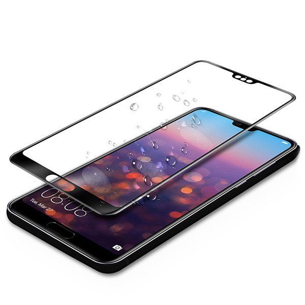 "Ultimate Shield Premium Tempered Glass Protector για Huawei P20 (5.8"") Black"