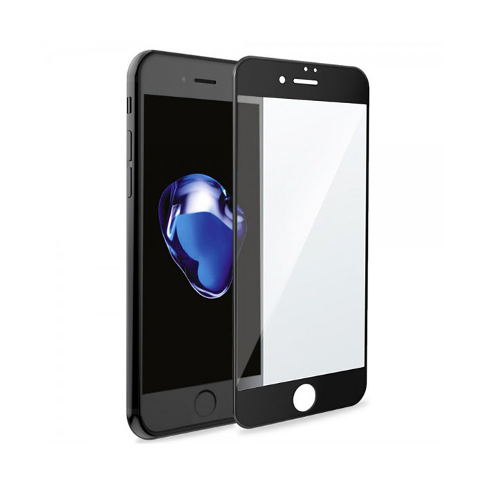 "Ultimate Shield Premium Full Face & Curved Tempered Glass Protector για Apple iPhone 7 & 8 Plus (5.5"") Black"