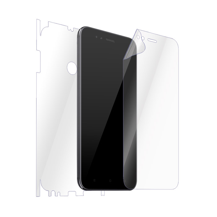 Ultimate Shield Full Body (Maximum) Invisible Film Screen Protector για Xiaomi Mi A1 / 5X + Οδηγίες εγκατάστασης