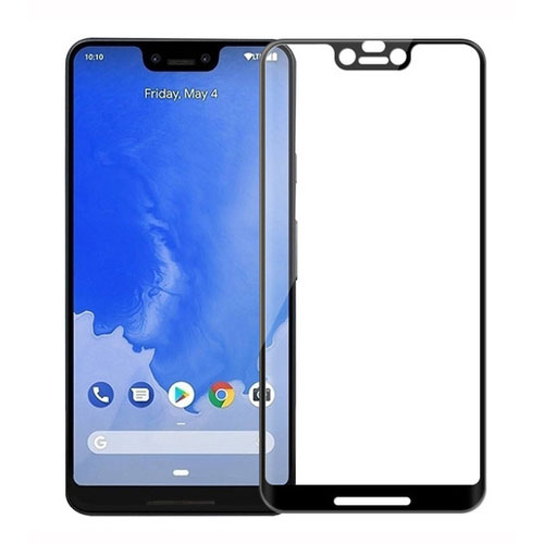 Ultimate Shield 3D Premium Full Tempered Glass Protector για Google Pixel 3 XL Black
