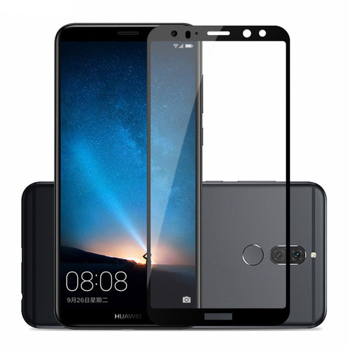 "Ultimate Shield Premium Tempered Glass Protector για Huawei Mate 10 Lite (5.9"") Black"