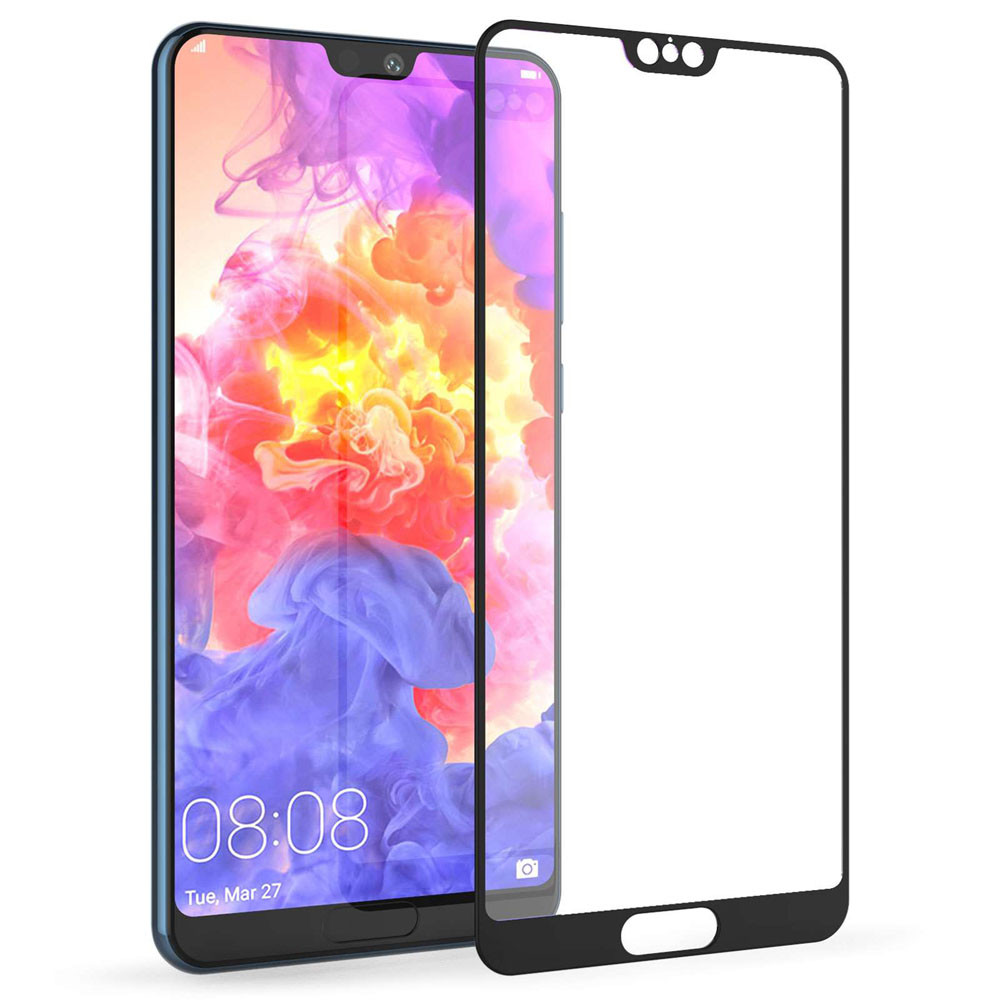 "Ultimate Shield Premium Tempered Glass Protector για Huawei P20 Pro (6.1"") Black"