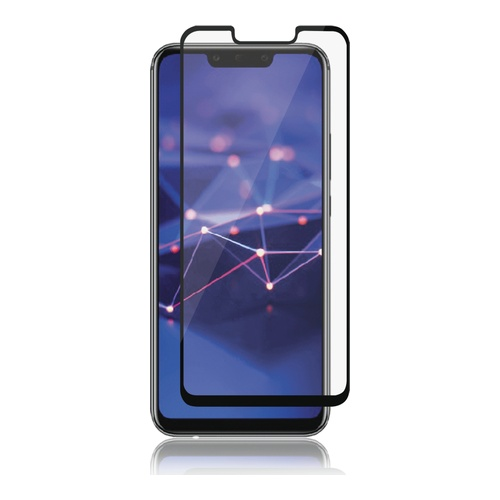Ultimate Shield Premium Tempered Glass Protector για Huawei Mate 20 Lite Black
