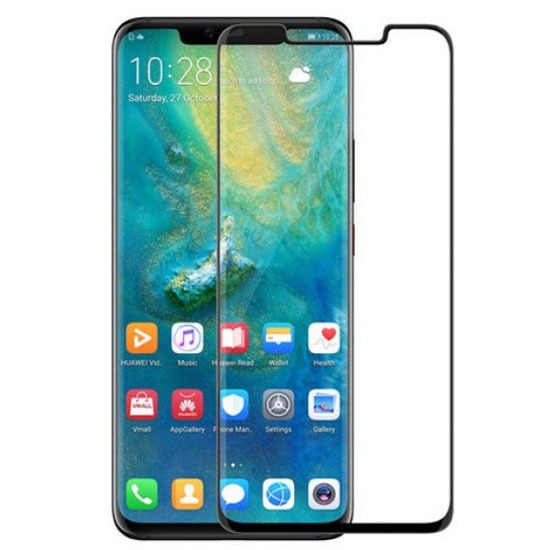 Ultimate Shield Premium Tempered Glass Protector για Huawei Mate 20 Pro Black