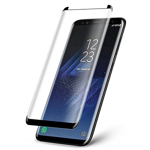 Ultimate Shield Premium Curved Tempered Glass Protector για Samsung SM-G955F Galaxy S8+ (Plus) Black (Case-Friendly)