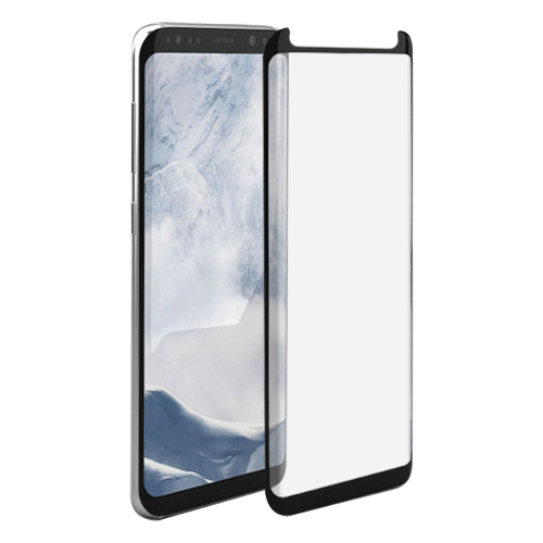Ultimate Shield Premium Curved Tempered Glass Protector για Samsung SM-G950F Galaxy S8 Black (Case-Friendly)
