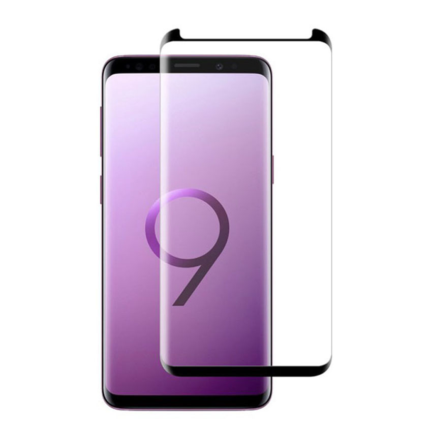 Ultimate Shield Premium Curved Tempered Glass Protector για Samsung SM-G960F Galaxy S9 Black (Case-Friendly)