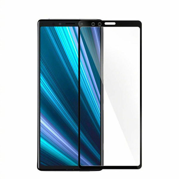 Ultimate Shield Premium Tempered Glass Protector για Sony Xperia XZ4 Black