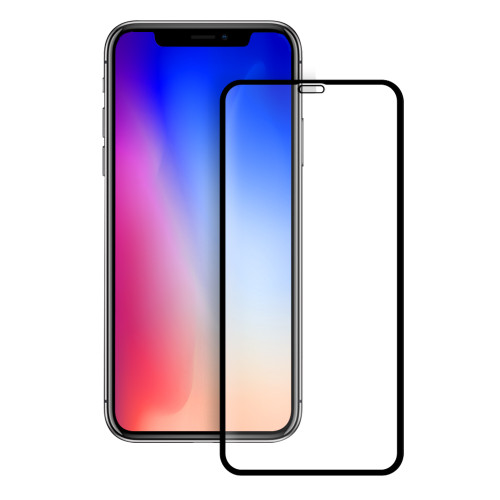 Ultimate Shield Premium Full Face & Curved Tempered Glass Protector για Apple iPhone XS Max - 11 Pro Max Black