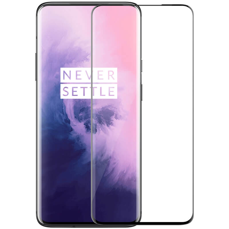 Ultimate Shield Premium Full Face & Curved Tempered Glass Protector για Oneplus 7 Pro Black