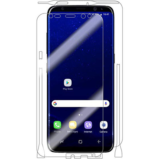 Ultimate Shield Full Body Curved Screen Protector για Samsung SM-G955F Galaxy S8+ (Plus) + Οδηγίες εγκατάστασης