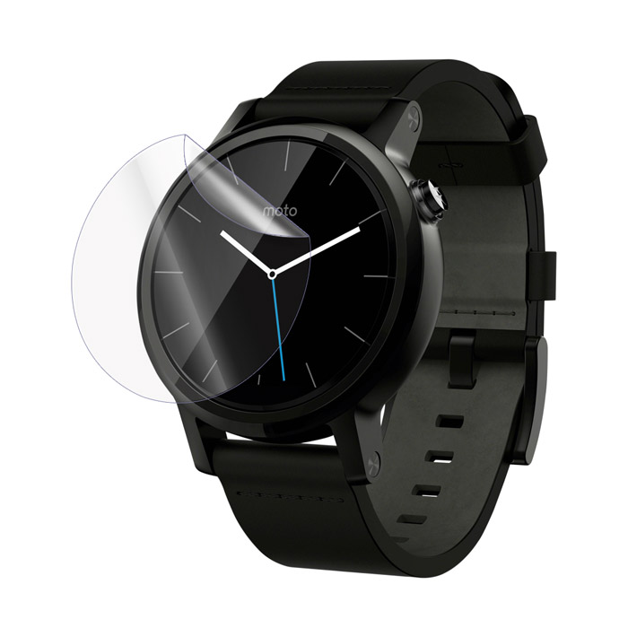 Ultimate Shield Screen Protector για Motorola Moto 360 2nd Gen 42mm + Οδηγίες εγκατάστασης