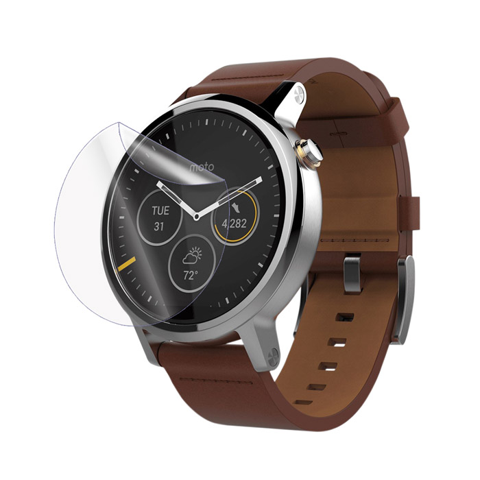 Ultimate Shield Screen Protector για Motorola Moto 360 2nd Gen 46mm + Οδηγίες εγκατάστασης