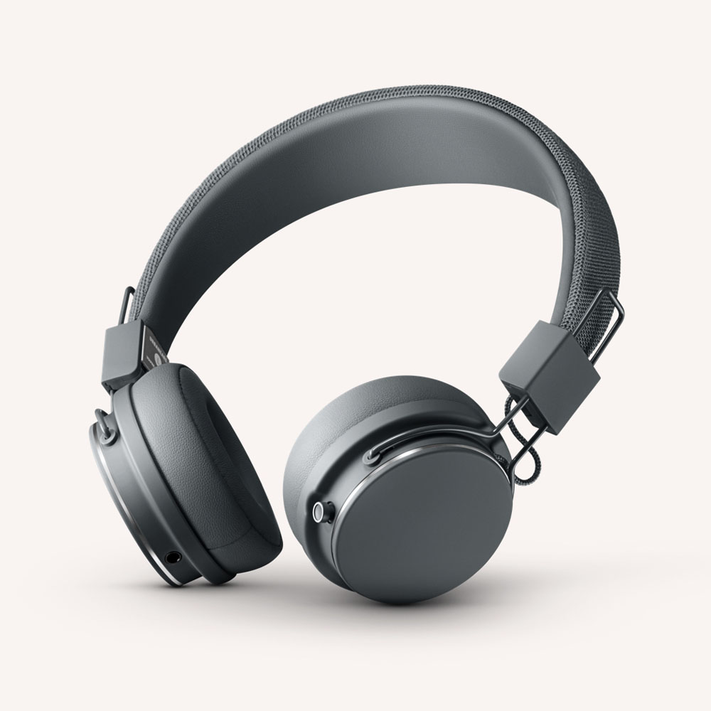 Urbanears Plattan 2 Bluetooth Dark Grey | 30+ Hours Playtime