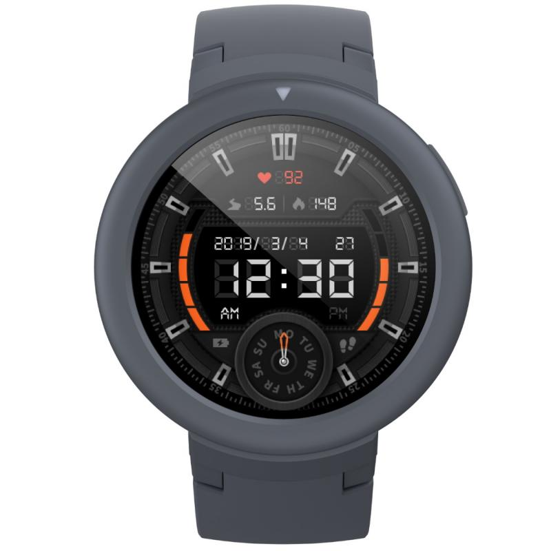 Amazfit (A1818) Verge Lite Shark Gray By Huami Smartwatch (Global Version)