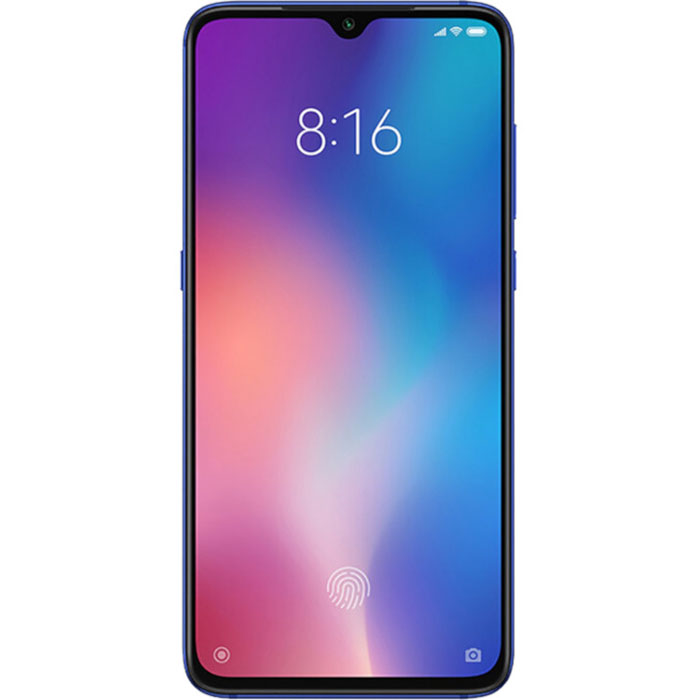 Xiaomi Mi 9, Dual Sim, 64GB & 6GB RAM, 4G+ Android Smartphone Blue (Global Version)