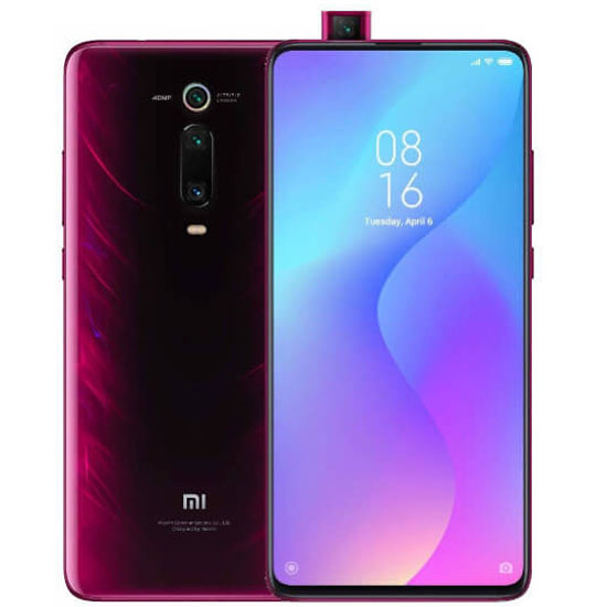 Xiaomi Mi 9T Pro, Dual Sim, 128GB & 6GB RAM, 4G+ Android Smartphone Flame Red (Global Version)