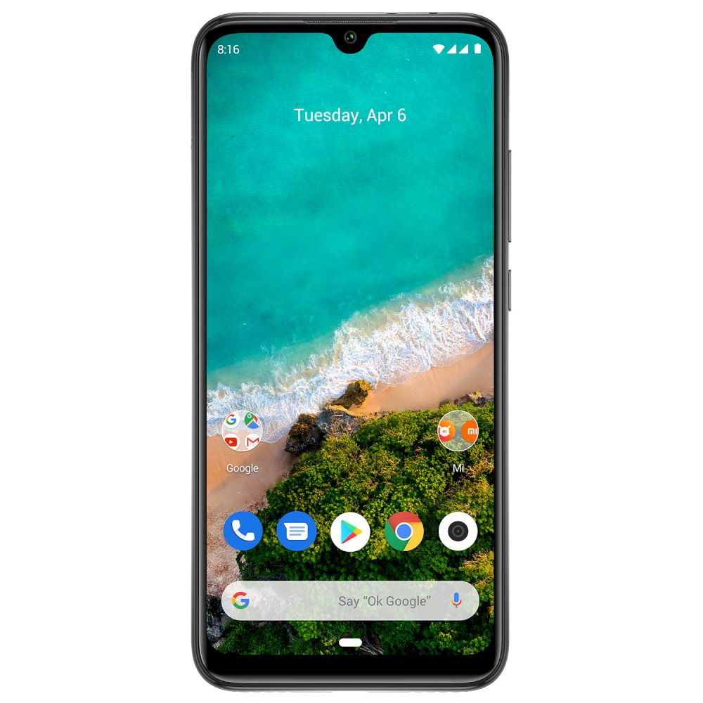 Xiaomi Mi A3, Dual Sim, 64GB & 4GB RAM, 4G Android Smartphone King of Grey (Global Version)
