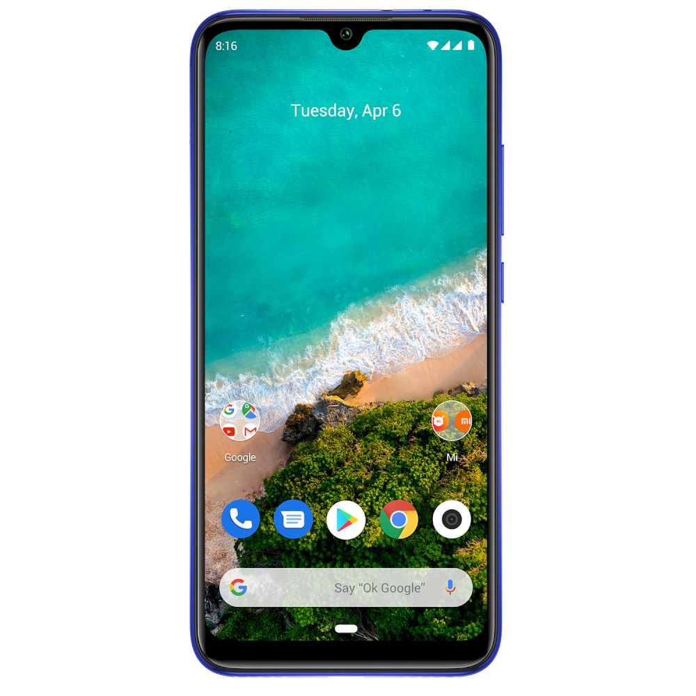 Xiaomi Mi A3, Dual Sim, 64GB & 4GB RAM, 4G Android Smartphone Not just Blue (Global Version)