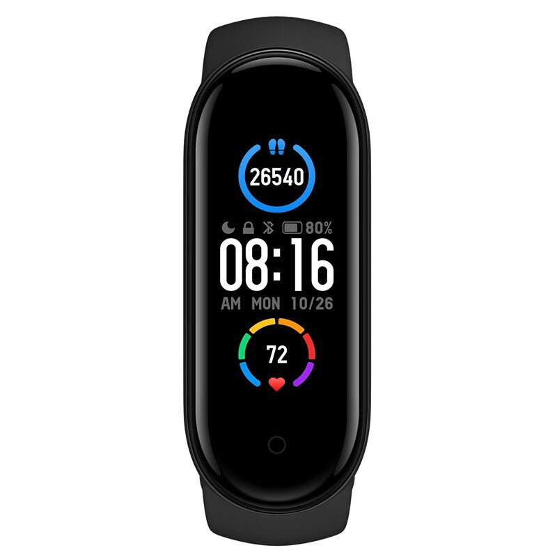 Xiaomi Mi Band 5 Black | Global Version | Συμβατό με Android & iOS συσκευές